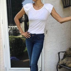 J brand flare stretch jeans rock boho glam 25 XS